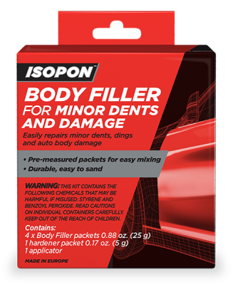 Body Filler for Minor Dents and Damage