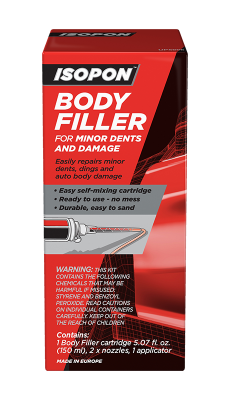 Body Filler Cartridge for Minor Dents and Damage